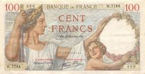 France 100 Francs Sully - 22-02-1940 Serial W.7764 - VF