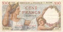 France 100 Francs Sully - 22-02-1940 Série W.7764 - TTB