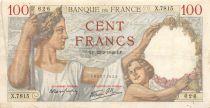France 100 Francs Sully - 22-02-1940 Série X.7815 - TTB