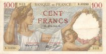 France 100 Francs Sully - 23-04-1942 Serial R.30299 - VF