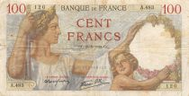 France 100 Francs Sully - 24-08-1939 Série A.483 - TB