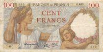 France 100 Francs Sully - 24-08-1939 Série G.450 - TB