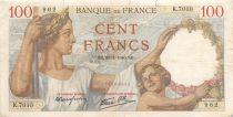 France 100 Francs Sully - 25-01-1940 Série K.7010 - TB
