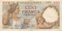 France 100 Francs Sully - 25-01-1940 Série R.6970 - TTB