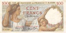 France 100 Francs Sully - 26-09-1940 Série H.15169 - TTB