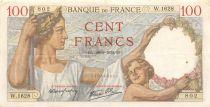 France 100 Francs Sully - 28-09-1939 Série W.1628 - TTB