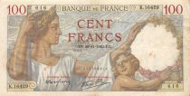 France 100 Francs Sully - 28-11-1940 Série K.16429 - TB