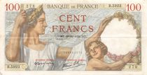 France 100 Francs Sully - 28-12-1939 Serial B.5923 - VF