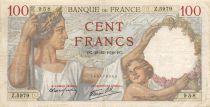 France 100 Francs Sully - 28-12-1939 Série Z.5979 - TTB
