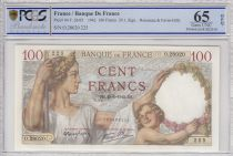 France 100 Francs Sully - 29-01-1942 - PCGS 65 OPQ