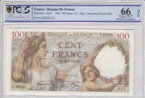 France 100 Francs Sully - 29-01-1942 - PCGS 66 OPQ