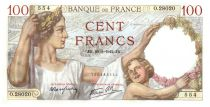 France 100 Francs Sully - 29-01-1942 Serial O.28020