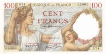 France 100 Francs Sully - 29-01-1942 Série O.28020 - P.NEUF