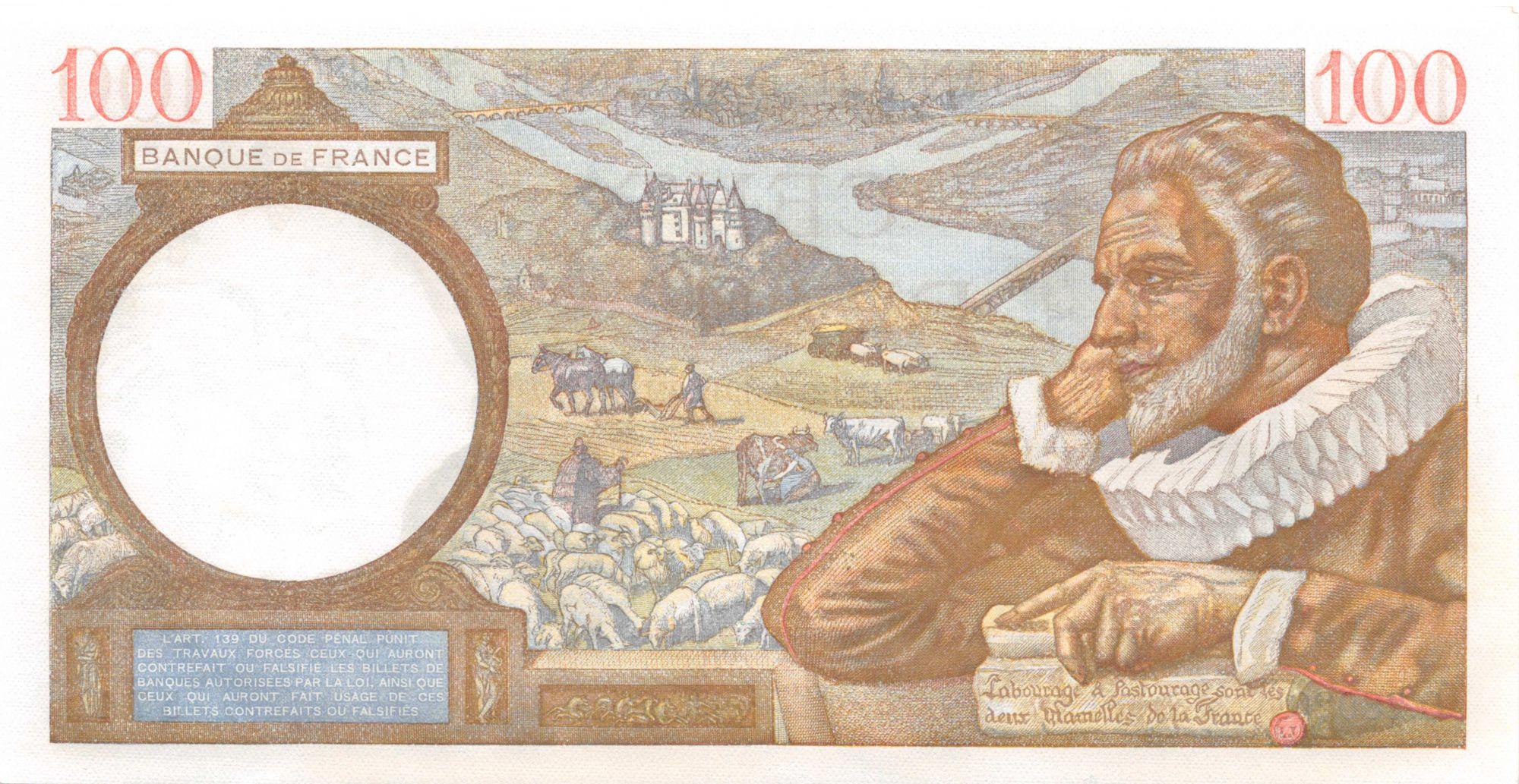 France 100 Francs Sully - 29-01-1942 Série O.28020 - P.NEUF