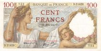 France 100 Francs Sully - 30-04-1941 Serial S.21428 - VF+