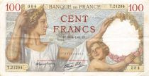 France 100 Francs Sully - 30-04-1941 Série T.21294 - TTB