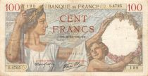France 100 Francs Sully - 30-11-1939 Serial S.4795 - F