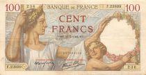 France 100 Francs Sully - 31-07-1941 Série F.23899 - TTB