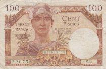 France 100 Francs Trésor Français - 1947 - Série F.2
