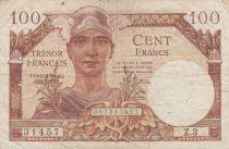 France 100 Francs Trésor ND1947 - Série Z.3