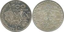France 100 Francs Victoire 2è Guerre Mondiale 8 Mai 1945