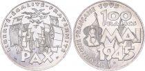 France 100 Francs Victoire 8 Mai 1945 - 1995