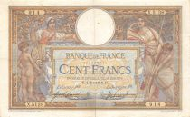 France 100 Francs Women and childs - 01-10-1918  Serial X.5138 - VF