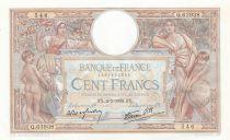 France 100 Francs Women and childs - 02-02-1939 - AU