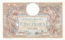 France 100 Francs Women and childs - 02-02-1939 - XF+