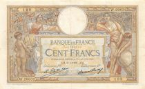 France 100 Francs Women and childs - 02-04-1931 Serial W.29832 - VF