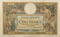 France 100 Francs Women and childs - 02-06-1909 - Serial P.860 - F