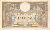 France 100 Francs Women and childs - 02-09-1915  Serial U.3005 - F+