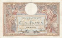France 100 Francs Women and childs - 02-12-1937 Serial C.56076