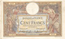 France 100 Francs Women and childs - 03-03-1917  Serial M.3912 - VF