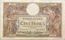 France 100 Francs Women and childs - 04-11-1916  Serial B.3711 - VF