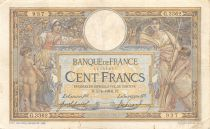 France 100 Francs Women and childs - 05-04-1916  Serial G.3362 - F+