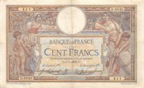 France 100 Francs Women and childs - 05-07-1918  Serial D.4848 - VF