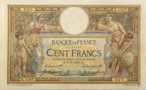 France 100 Francs Women and childs - 05-12-1910 - Serial K.1307 - F+