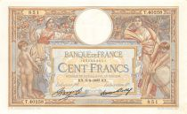 France 100 Francs Women and childs - 06-04-1933 Serial T.40258 - XF
