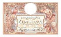 France 100 Francs Women and childs - 06-04-19338 Serial R.40080