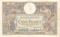 France 100 Francs Women and childs - 06-06-1925 Serial P.12639 - VF