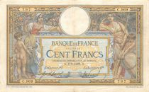 France 100 Francs Women and childs - 06-08-1909  Serial C.969 - VF