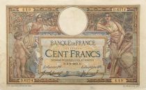 France 100 Francs Women and childs - 09-09-1919 - Serial D.6274 - VF