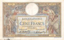France 100 Francs Women and childs - 09-10-1922  Serial T.8570 - VF
