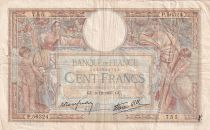 France 100 Francs Women and childs - 09-12-1937 - Serial P.56324 - F