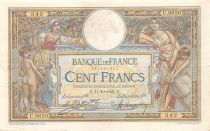 France 100 Francs Women and childs - 11-10-1923  Serial U.9820 - VF