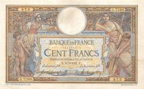 France 100 Francs Women and childs - 12-03-1921  Serial G.7398 - VF