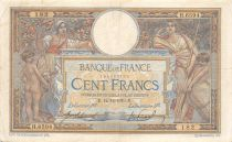 France 100 Francs Women and childs - 12-12-1919  Serial H.6594 - F to VF