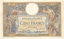 France 100 Francs Women and childs - 13-12-1922  Serial M.8786 - VF