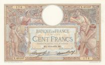 France 100 Francs Women and childs - 14-06-1934 Serial X.45187